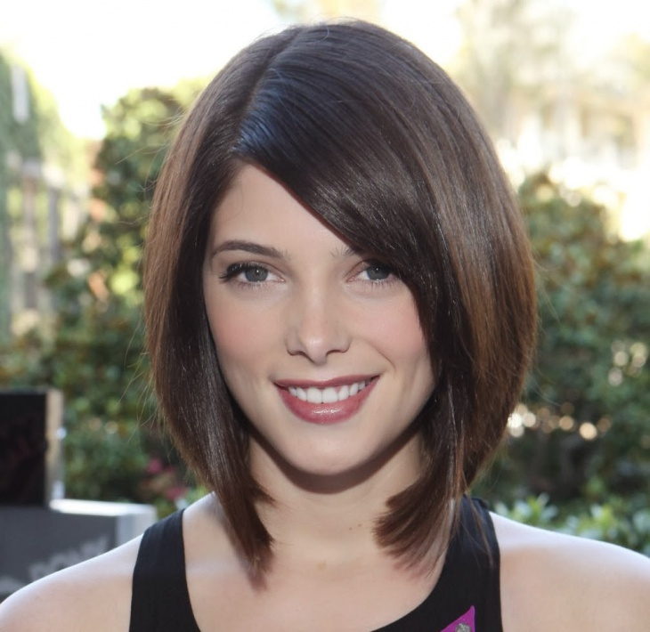 Ashley Greene Short Blunt Hairstyle