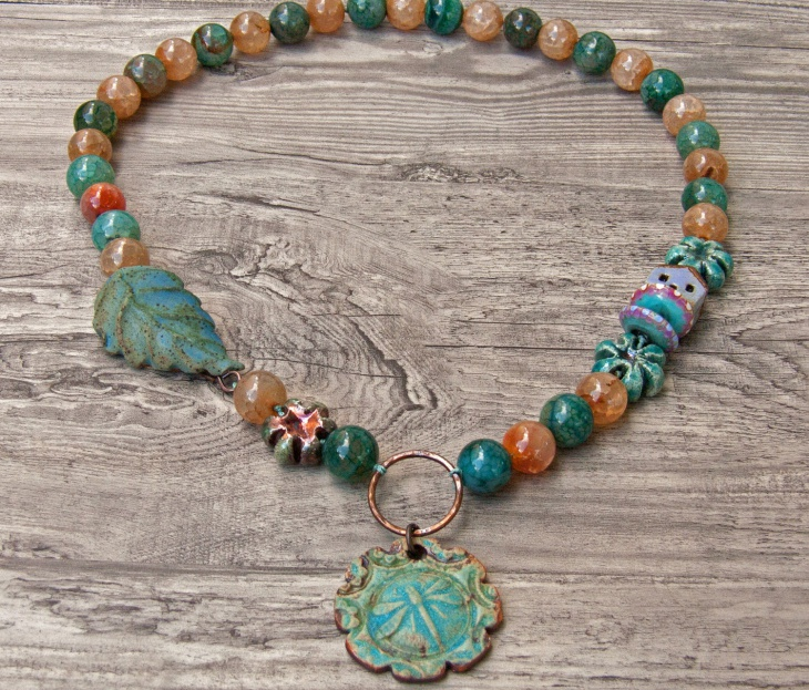 beaded dragonfly jewelry