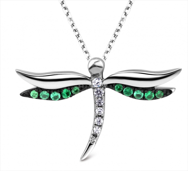 Sterling Silver Dragonfly Jewelry