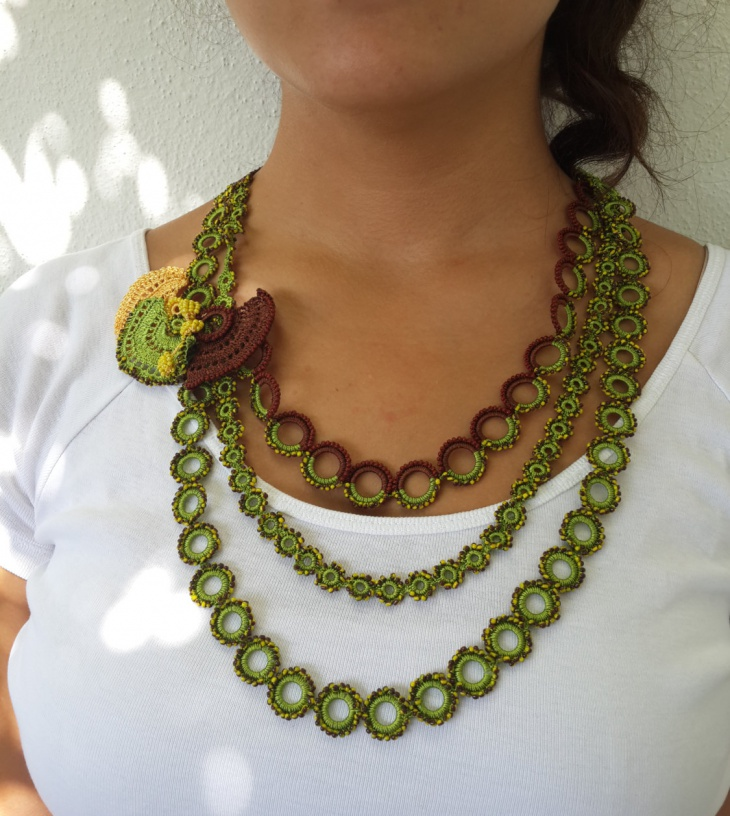 Crochet Lace Necklace