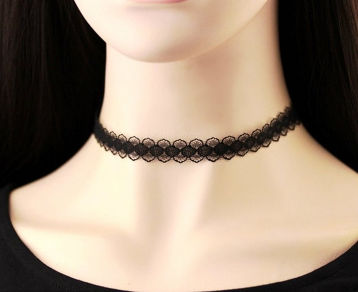 Lace Choker Necklace Design