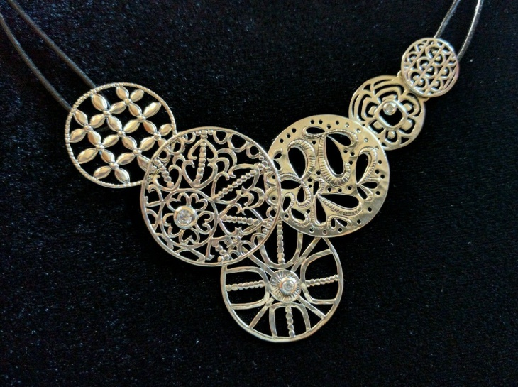 Lace Filigree Necklace