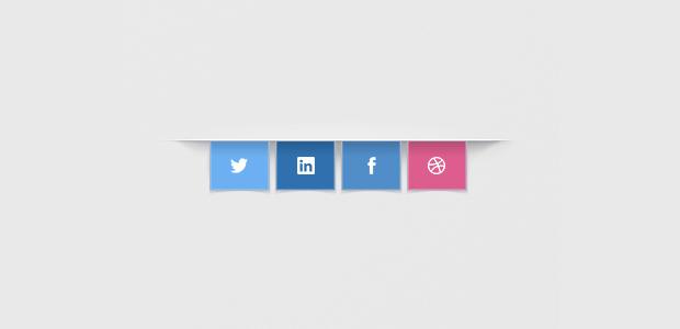 Banner Social Media Sharing Buttons