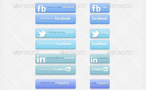 Socialize Social Button Kit