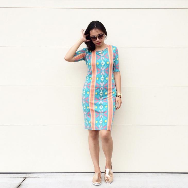 cute tribal print dress