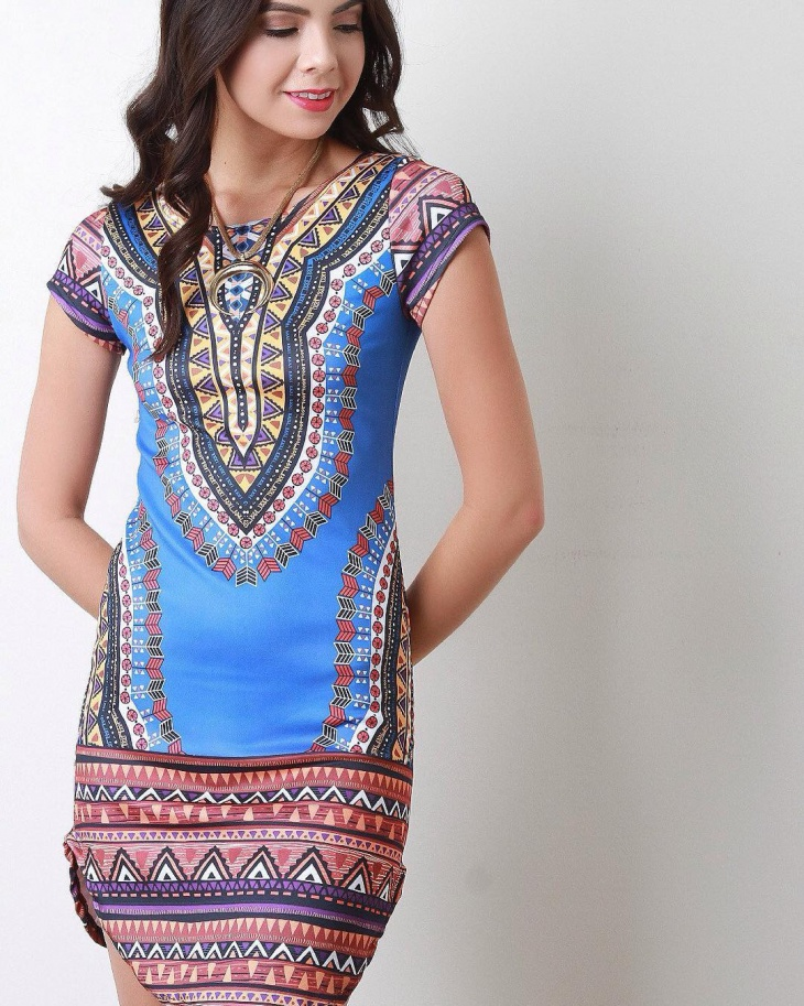 cool tribal print outfit