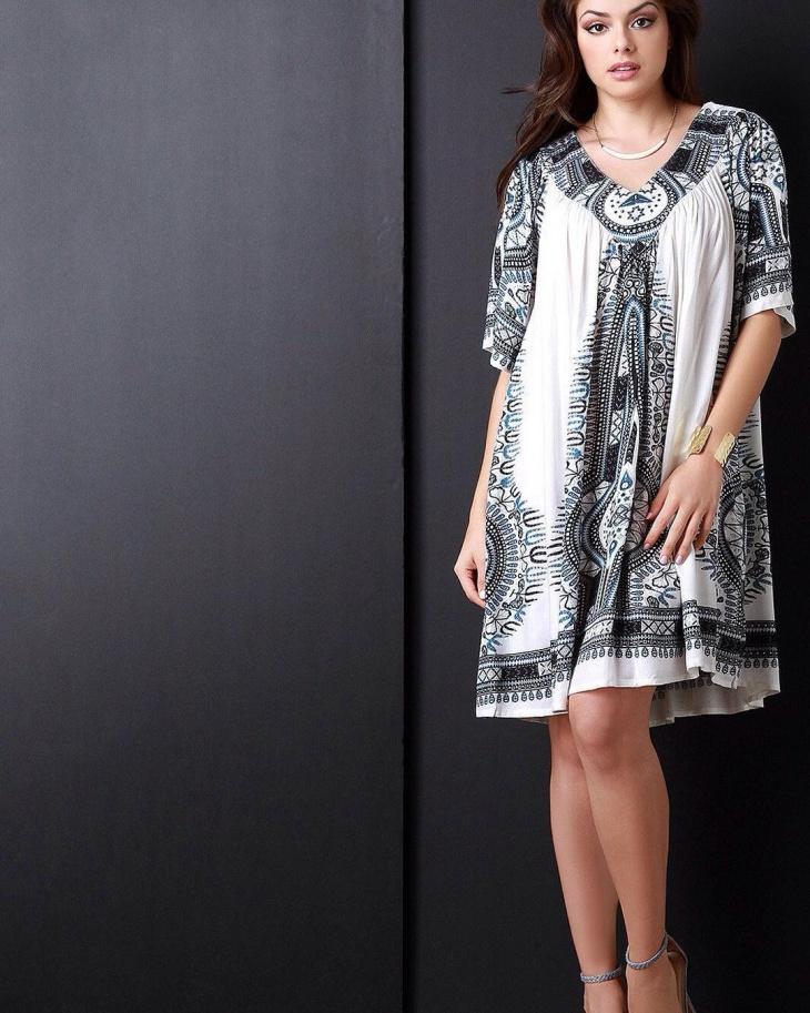 african tribal print dress