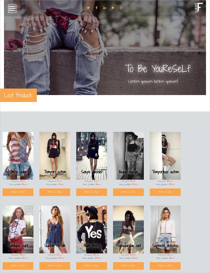 Fashion eCommerce Bootstrap Drupal Theme