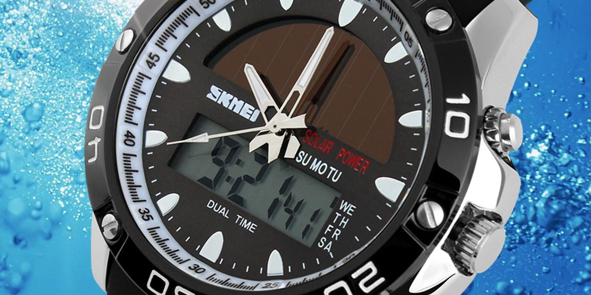 Skmei Solar Watch
