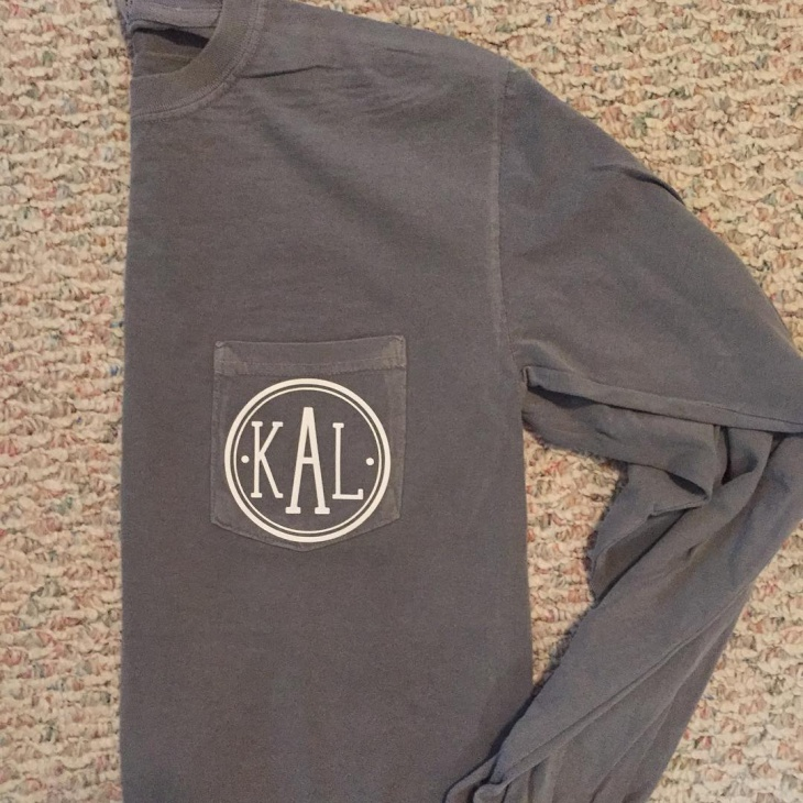Monogram Pocket T Shirt