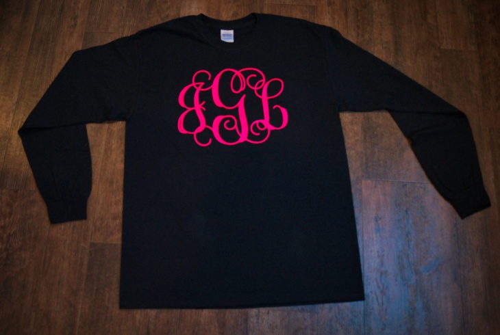 Black Monogram T Shirt