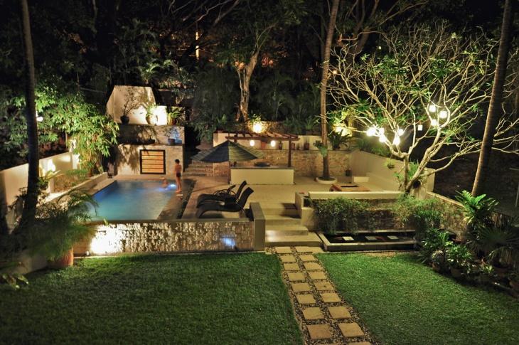 Garden Swimming Pool Idea