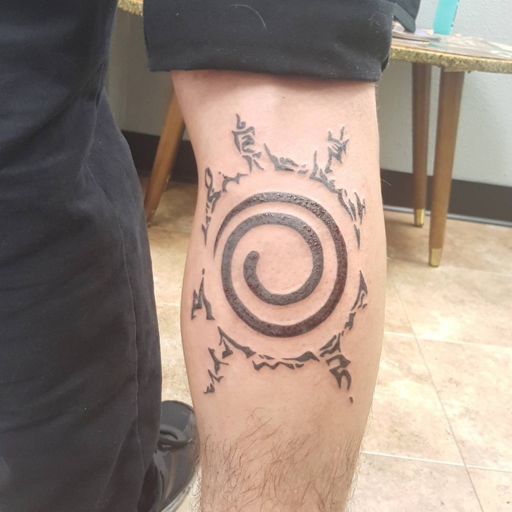 naruto seal tattoo design