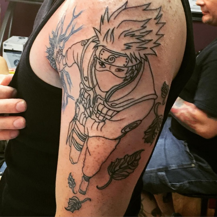 Naruto Arm Tattoo