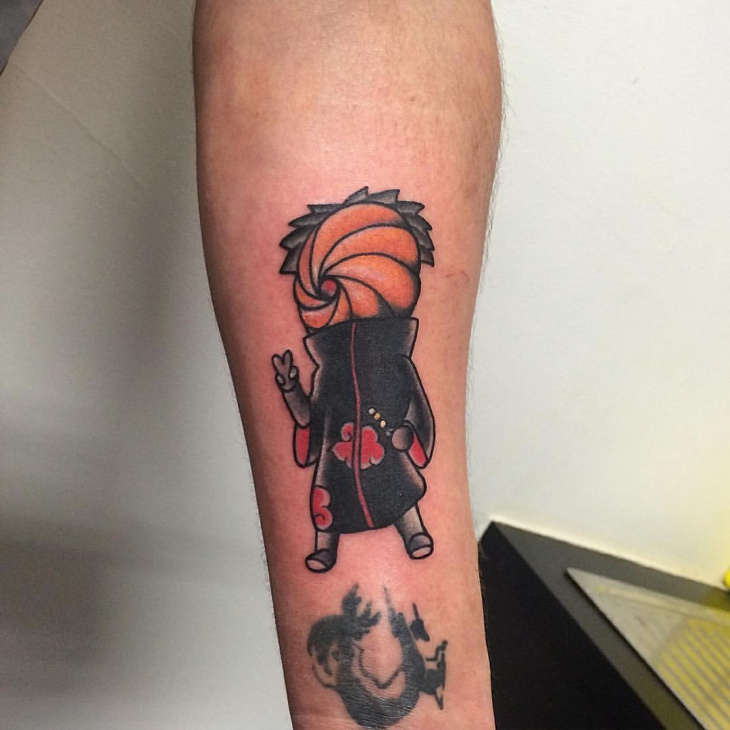 Simple Naruto Tattoo Idea