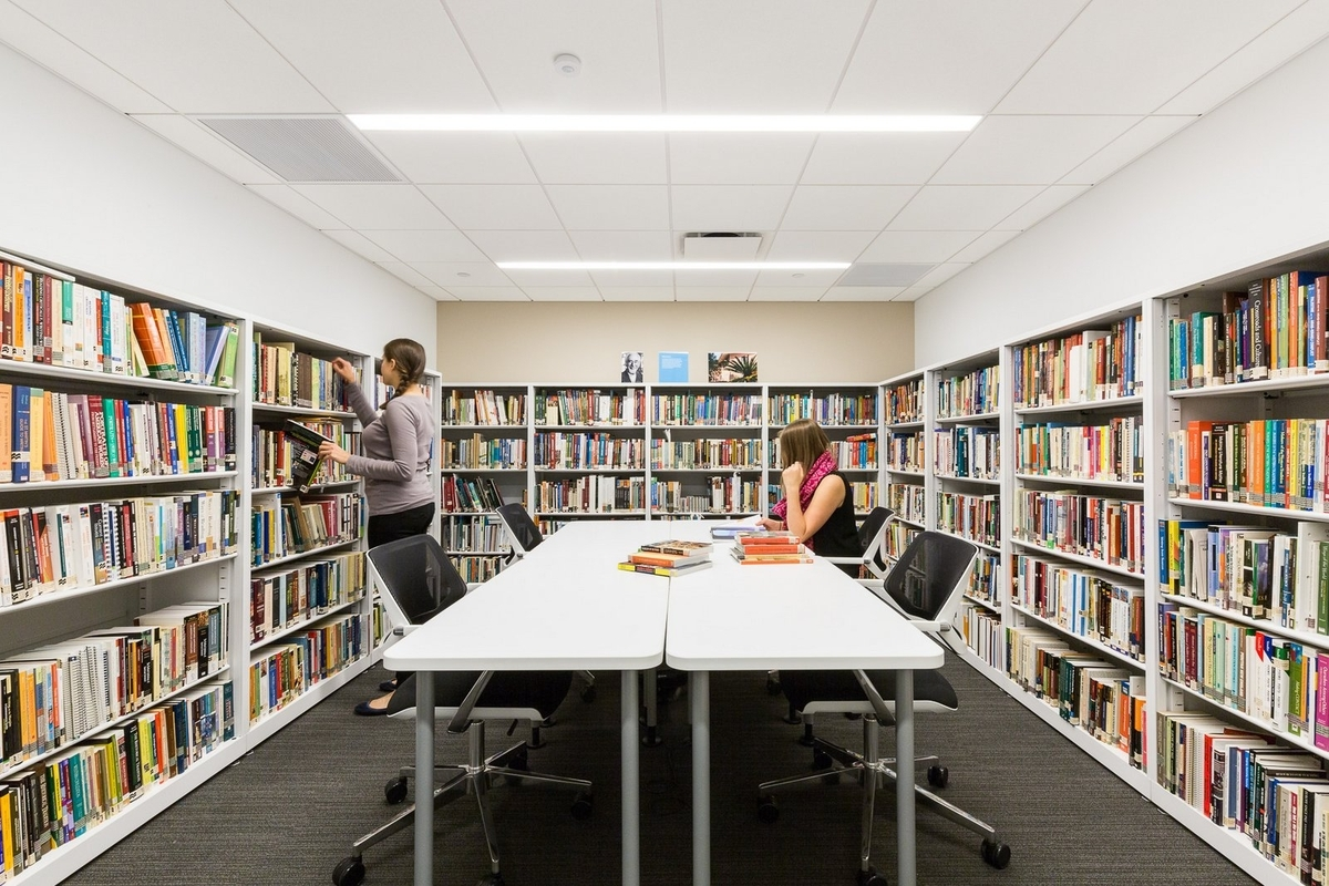 Narrow Library Table