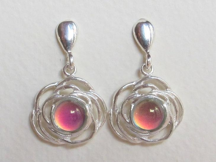 Sterling Silver Mood Earrings