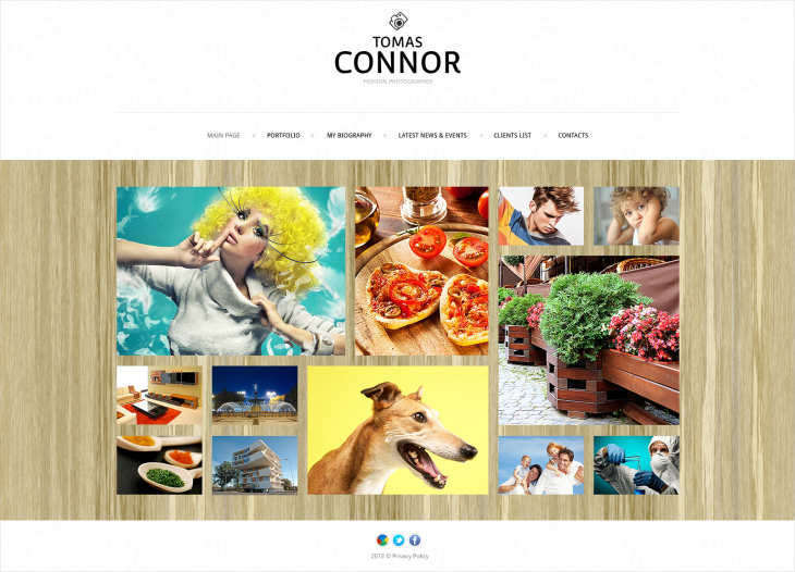 gallery joomla template