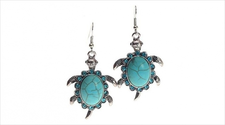 turtle mood earrings