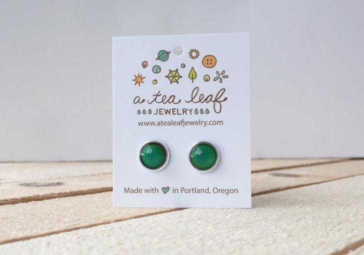 Simple Mood Earrings Idea