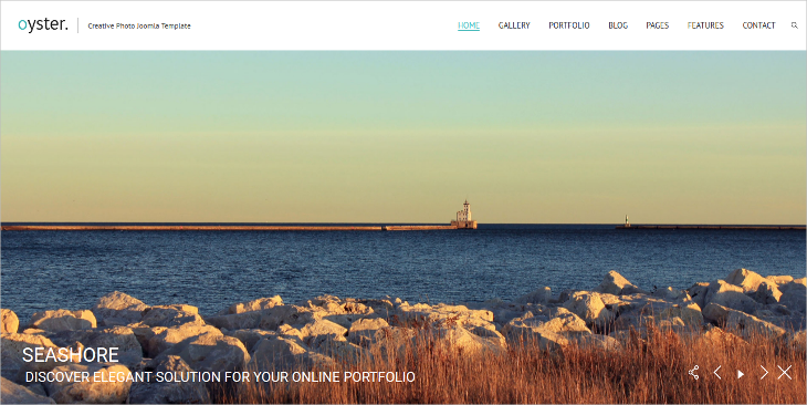 Creative Photography Joomla Template