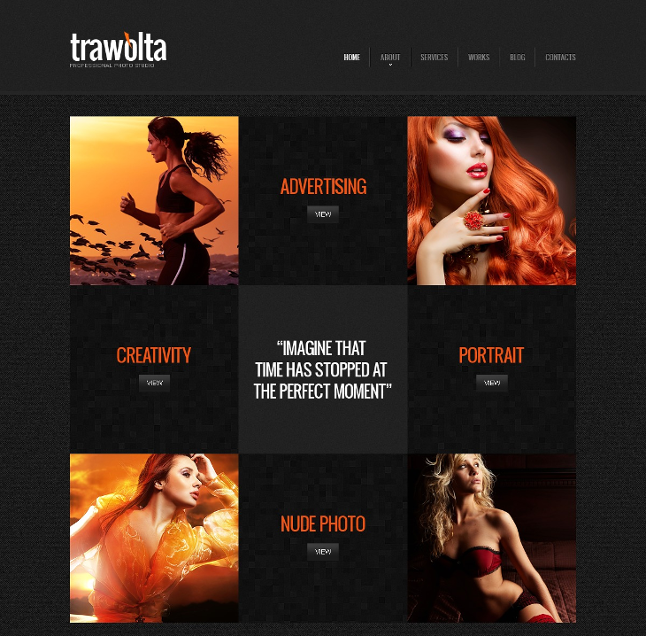 photo studio joomla theme