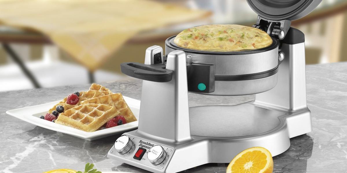 cuisinart breakfast express waffle omelette maker