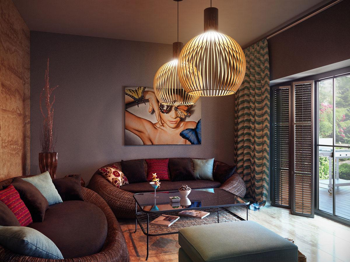 antique living room chandelier