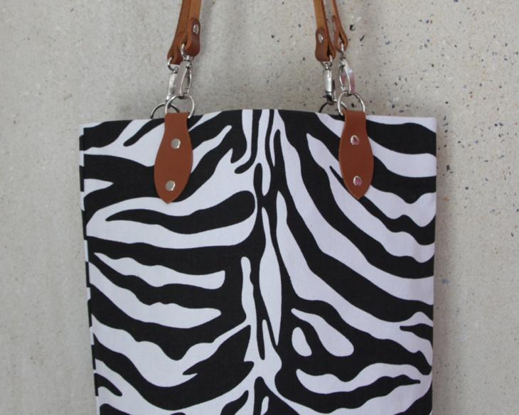 Zebra Animal Print Handbag