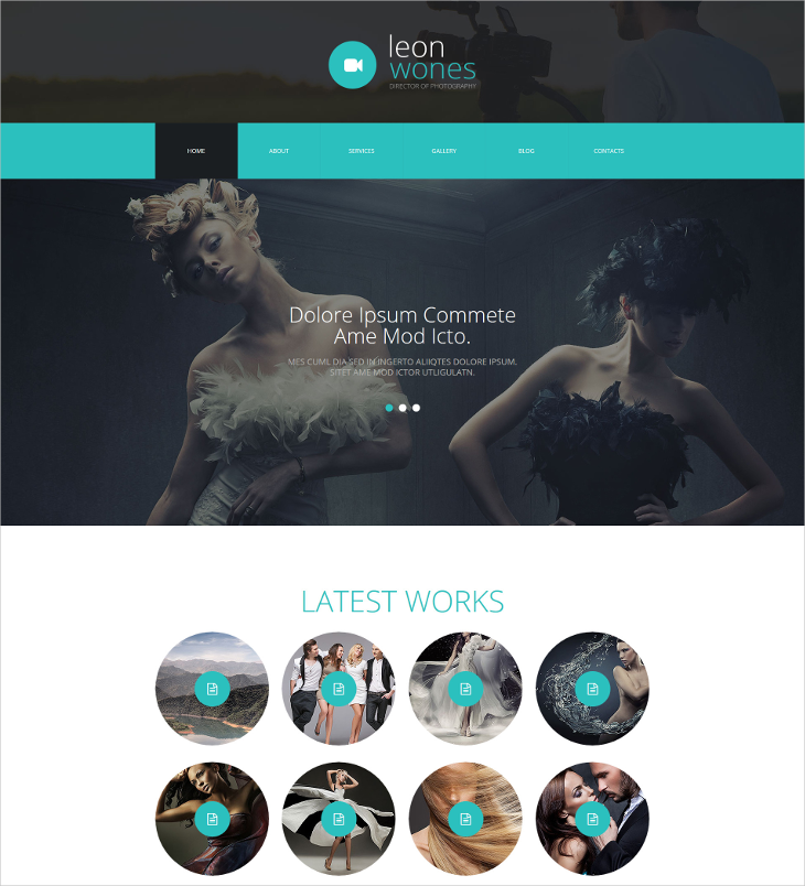 photography director joomla template