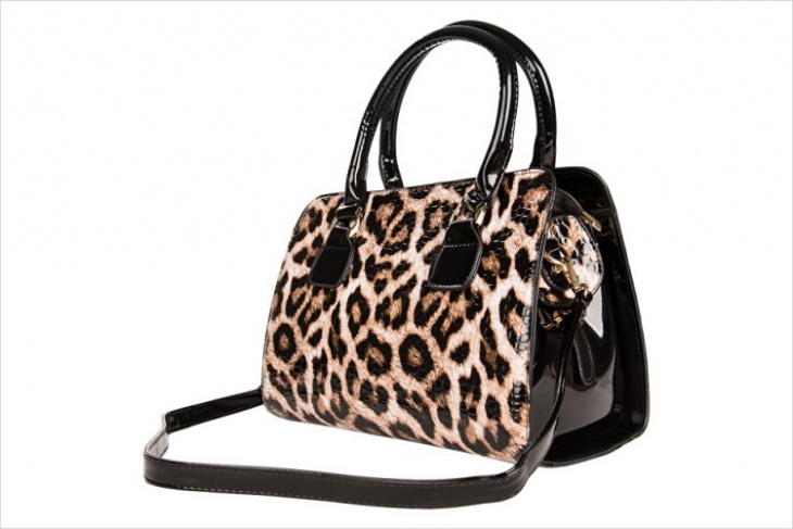 leopard animal print bag design
