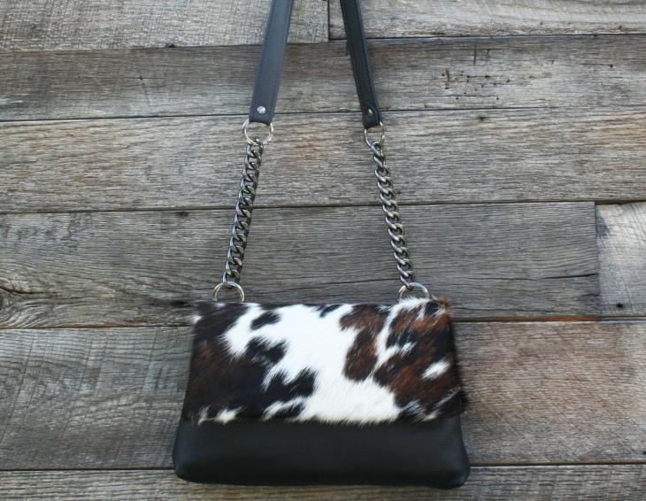Modern Animal Print Handbag