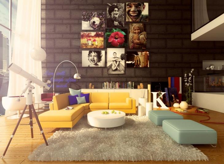 classy antique living room1