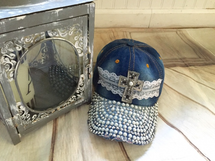Bling Cross Hat