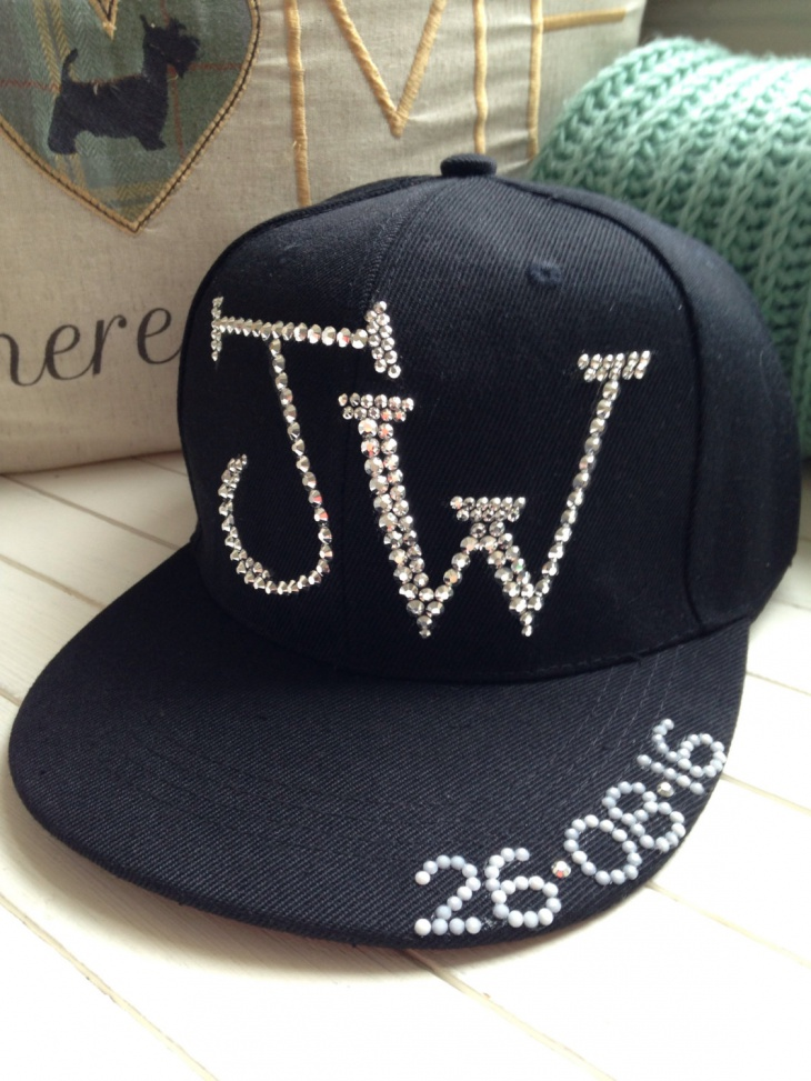 Personalized Bling Hat