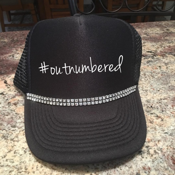 Bling Trucker Hat Design