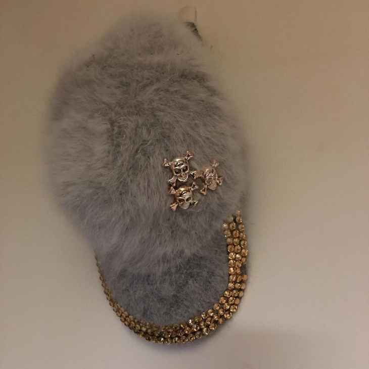 Bling Fur Hat Idea