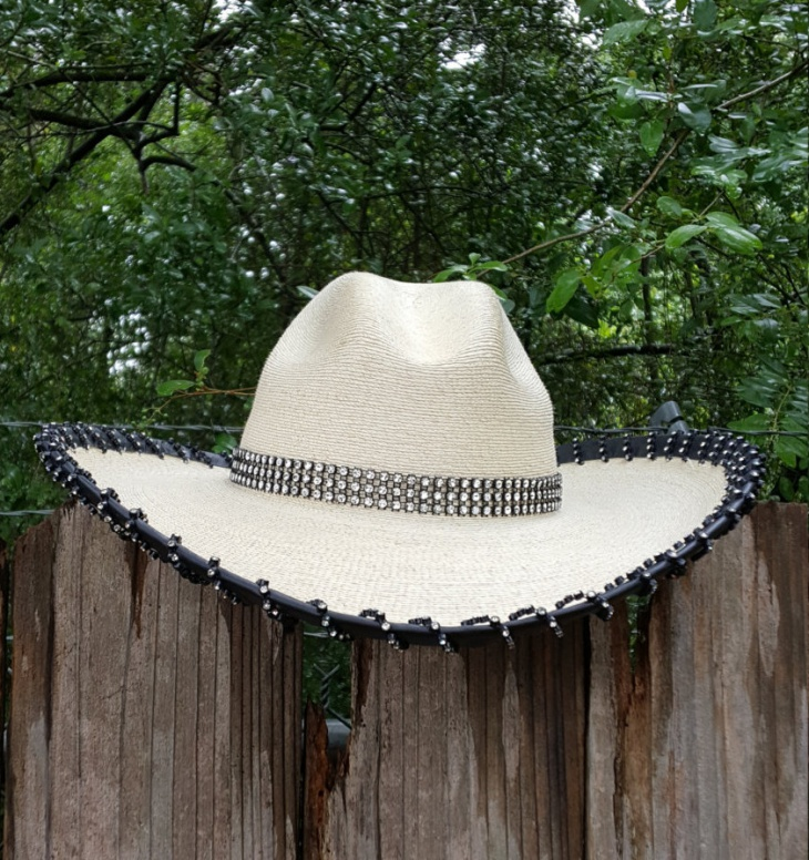 Leather Bling Hat Design