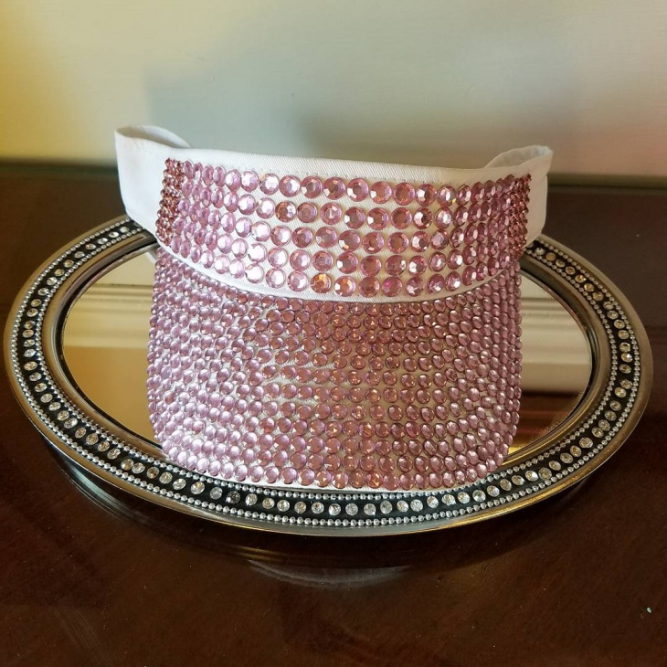 Pretty Bling Hat Idea