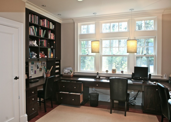 Small Home Office Bookshelves