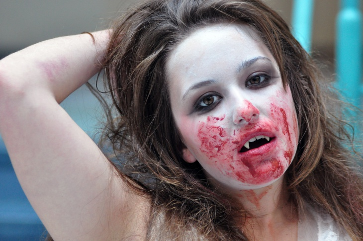 Bride Dracula Makeup