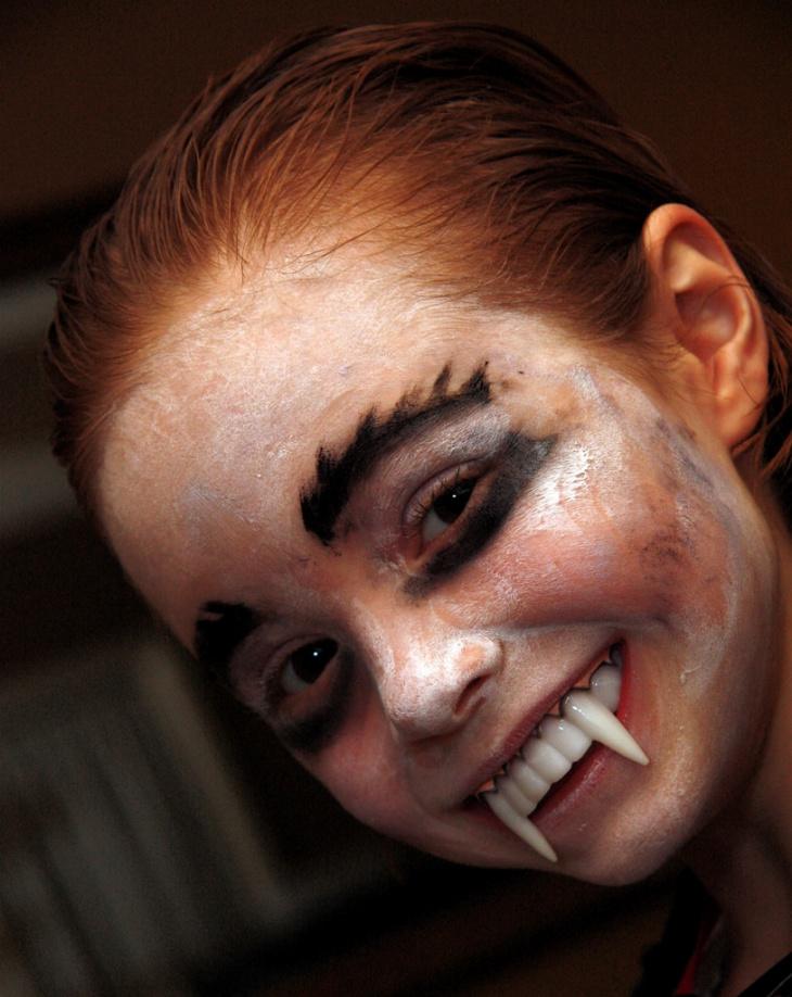 Baby Dracula Makeup