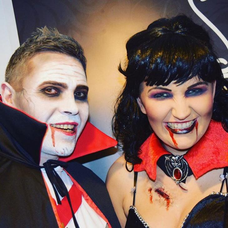 Dracula Makeup For Halloween
