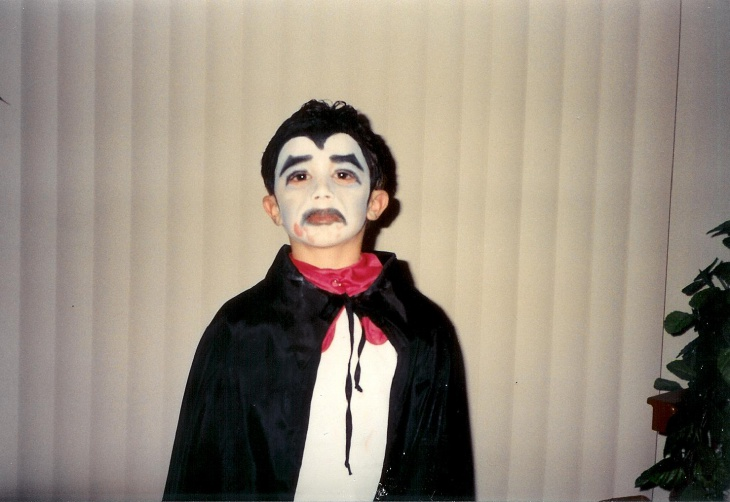 Dracula Stage Makeup