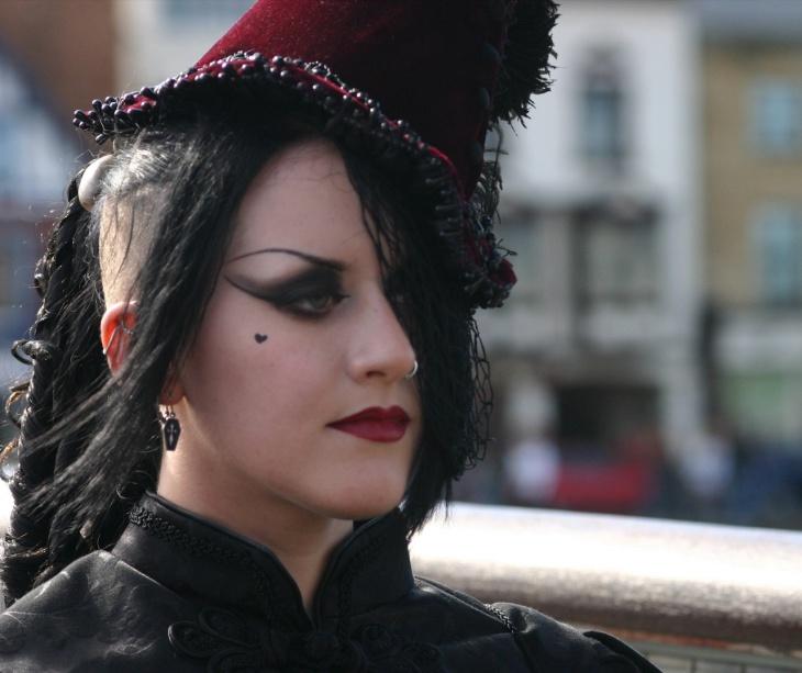 Classic Dracula Makeup