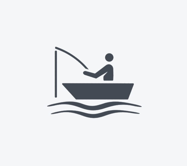 fisherman boat icon