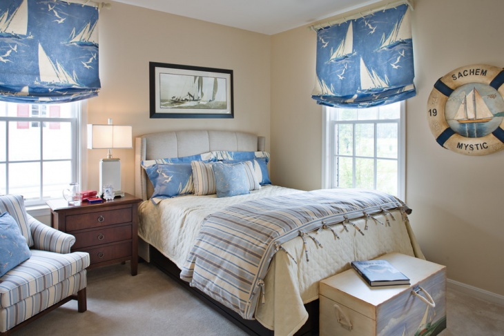 small nautical bedroom
