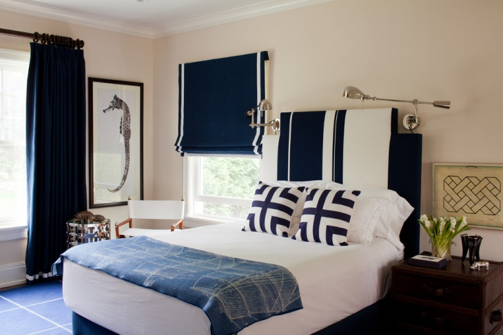 modern nautical bedroom