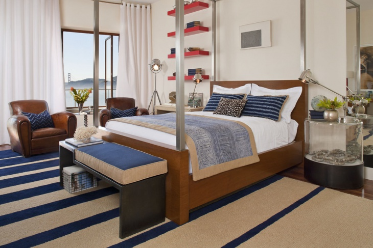 traditional nautical bedroom