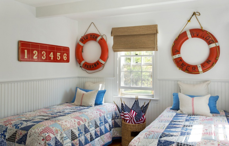 renovation of nautical bedroom
